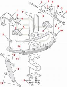 Navistar Replacement Suspension Parts For Rear Axle