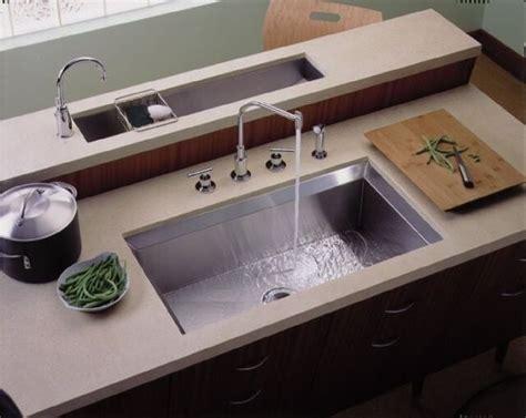 Undercounter Kohler Kitchen Sink  Contemporary Kitchen