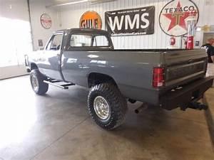 85 Gray Dodge Ram Pickup Truck 4x4 440 Big Block 4 Spd