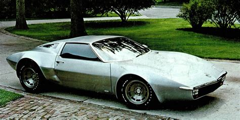 Archive Dive 1970s Dreams Of Midengined Corvettes