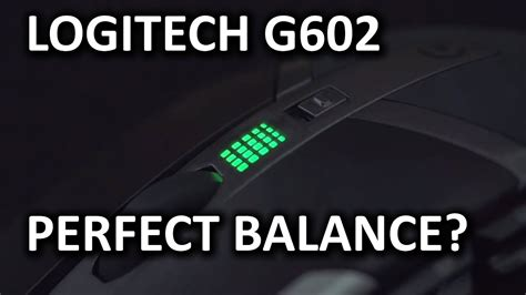 Logitech G602 Wireless Gaming Mouse Unboxing And Overview
