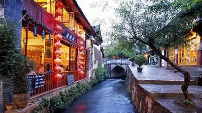 China Yunnan Lijiang Wallpapers Province Tourist Unesco