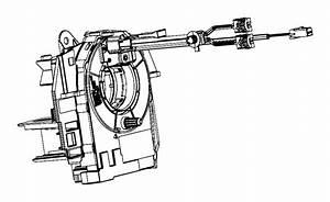 Dodge Ram 1500 Clockspring  Steering Column Control Module