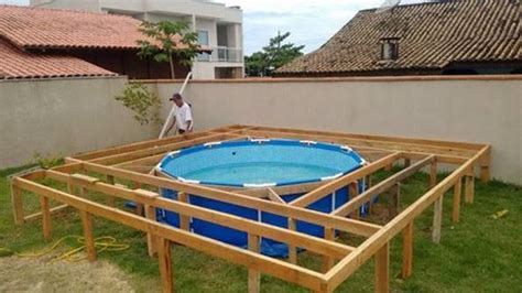 creative ideas diy  ground swimming pool