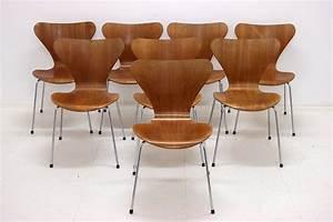 Arne Jacobsen Stühle : vintage serie 7 st hle arne jacobsen fritz hansen designklassiker ~ Eleganceandgraceweddings.com Haus und Dekorationen