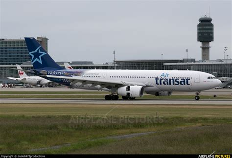 Air Transat To Vancouver C Gtsj Air Transat Airbus A330 200 At Vancouver Intl Bc