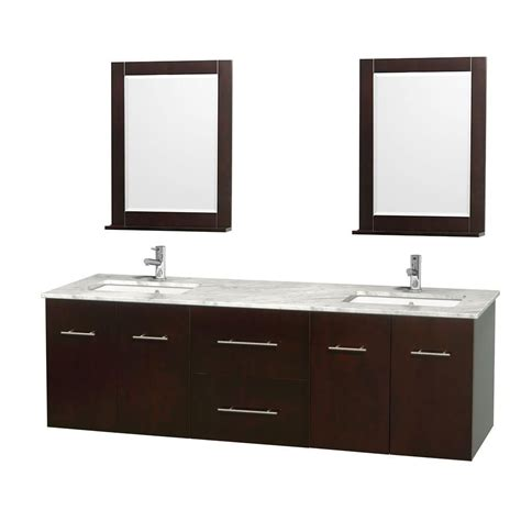wyndham collection centra 72 inch w double vanity in