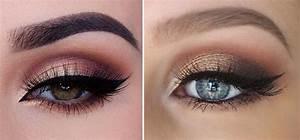 Cómo maquillar los ojos en color cobre