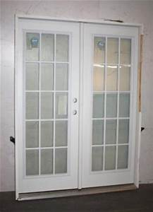 masonite 60quot x 80quot pre hung 15 lite household patio entry With 60x80 french doors