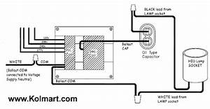 hid ballast wiring diagrams for metal halide and high With hps ballast wiring