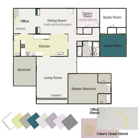 our whole house color palette house