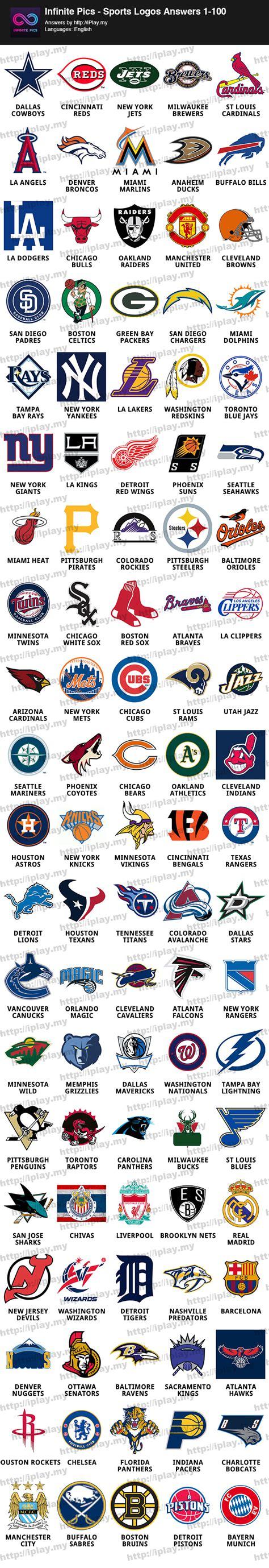 infinite pics sports logos answers iplaymy