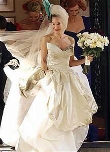 carrie bradshaw wedding dress fashion sex and the city With sex and the city wedding dress