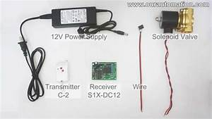 How To Remote Control Dc12v Solenoid Valve