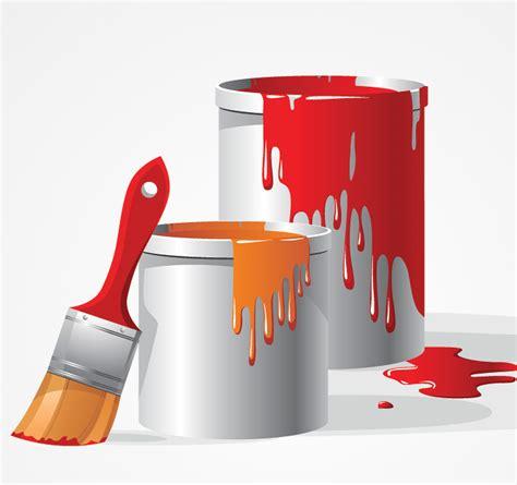 pot de peinture brosse vector clipart gratuit fichier vectoriel rodced clipart kid
