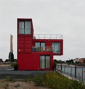 Moderne Container Häuser : container haus container house pinterest container ~ Lizthompson.info Haus und Dekorationen