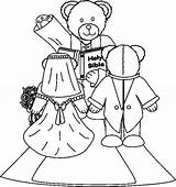 Coloring Pages Relationship Wedding Printable Template sketch template