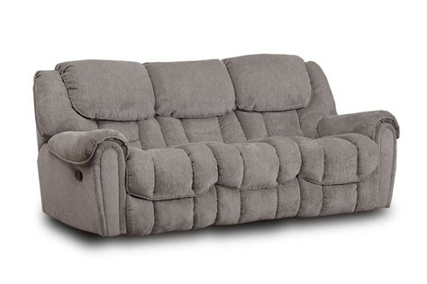 microfiber reclining sofa with console denmark microfiber reclining sofa at gardner white