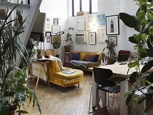 Petit Fauteuil Jaune : quelle d co pour un salon avec un canap jaune ~ Teatrodelosmanantiales.com Idées de Décoration