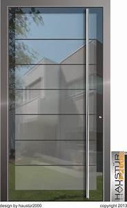 Haustüren Mit Viel Glas : aluminium haust r ganzglasf llung alu haust ren ~ Michelbontemps.com Haus und Dekorationen