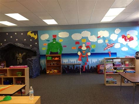 235 Best Images About 4th  Super Hero Classroom On Pinterest