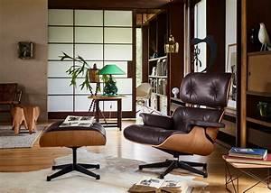 Vitra Eames Chair : vitra eames lounge chair ottoman american cherry wood ~ A.2002-acura-tl-radio.info Haus und Dekorationen