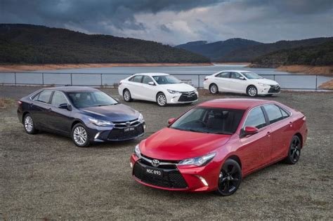 2015 toyota lineup new look 2015 toyota camry on sale in australia from