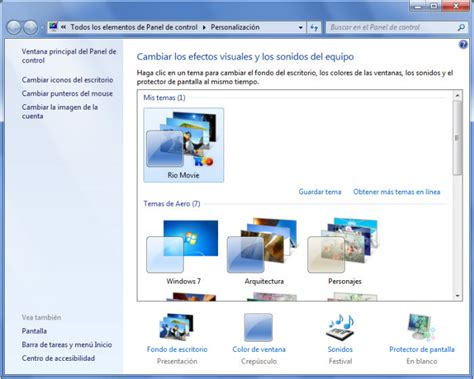 theme de bureau windows 7 thème pour windows 7 windows télécharger