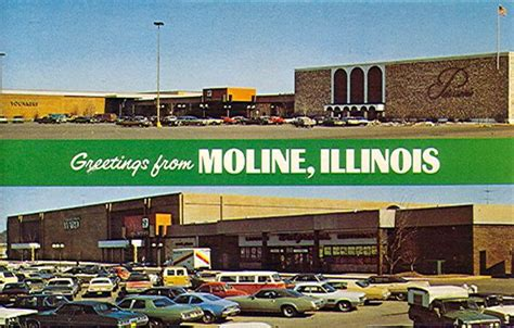 Moline, Illinois - circa 1970s | Mall | Pinterest