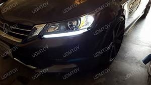 Honda Accord Oem Look Led Daytime Running Light Retrofit
