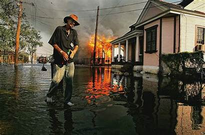 Katrina Hurricane Orleans Ward Disaster 7th 2005