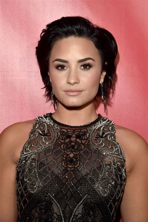 DEMI LOVATO at 2016 Musicares Person of the Year Honoring ...