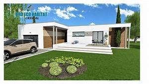 Budget Plan Maison Architecte Toit Plat Plain Pied Cristal