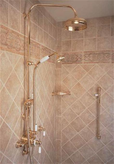 rohl bathroom perrin  rowe exposed shower system