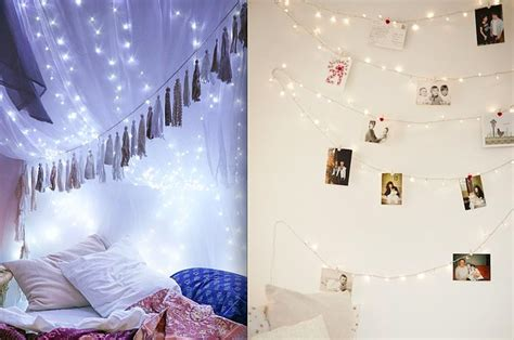 How To Hang Up Led Lights In Your Room by 19 Cozy Ways To Use String Lights In Your Home