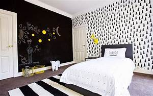 Creative Bedrooms With Chalkboard Walls And Inspirational