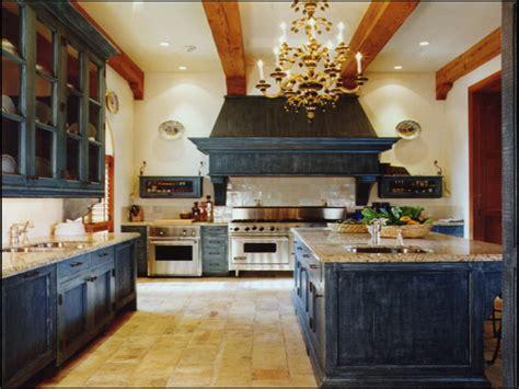 cream colored kitchen cabinets antique blue kitchen