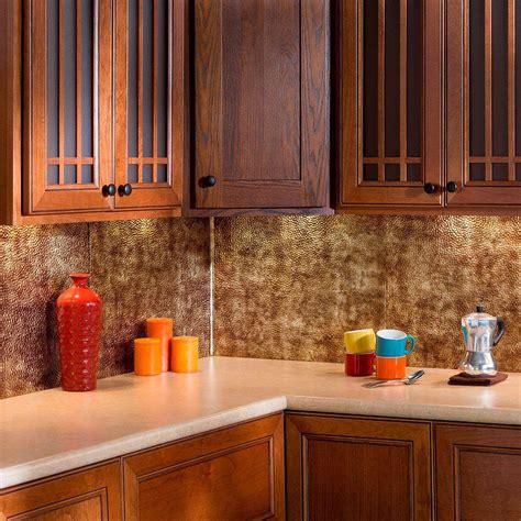 home depot kitchen backsplash pictures fasade 18 in inside corner trim in bermuda bronze 926 17 7073