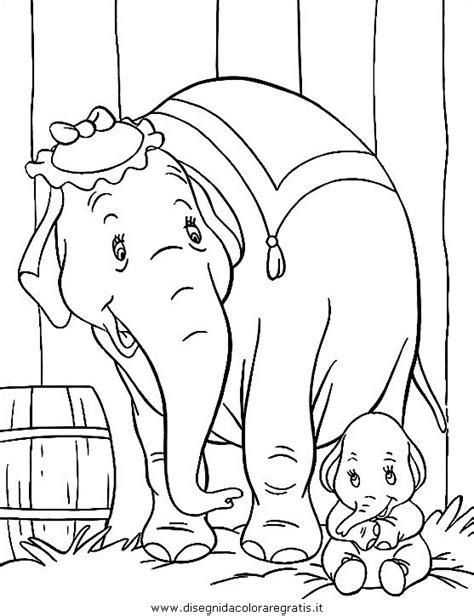 disegno elefante animali da colorare