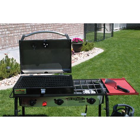 c chef grill box c chef 3 burner barbecue box with hinged lid with 5090
