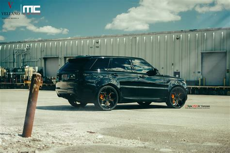 Out Range Rover by Blacked Out Range Rover Sport By Mc Customs