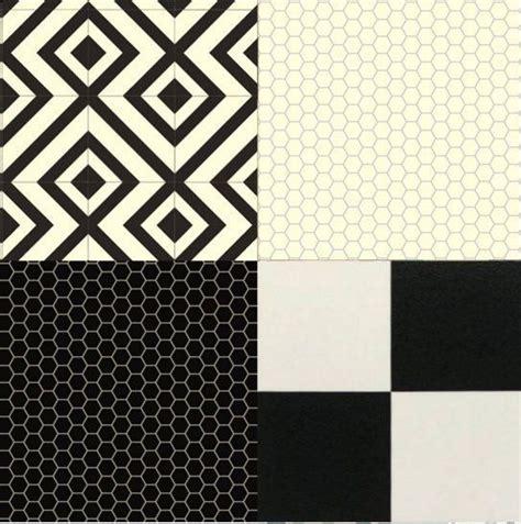 cushion floor vinyl black white design sheet lino kitchen
