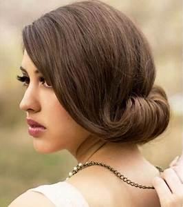 Coiffure Mariage Facile Cheveux Mi Long : coupe de cheveux mi long mariage ~ Nature-et-papiers.com Idées de Décoration