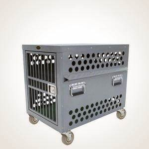Zinger heavy duty dog crate professional aluminum crates for High end dog crates