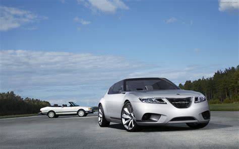 Saab 9 X Air Biohybrid Concept Car Widescreen Exotic Car