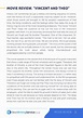 Stirring Movie Review Essay Example ~ Thatsnotus