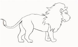 How To Draw a Lion - Step-by-Step