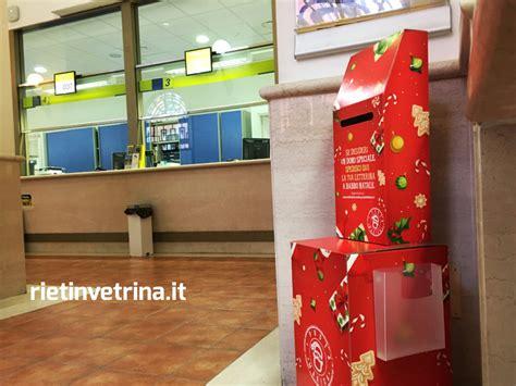 cassetta postale poste italiane cassetta natalizia per letterine a babbo natale nell