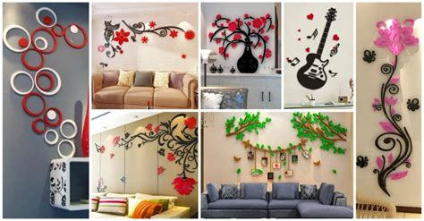 Home Decor 3d Wall Stickers : Awesome 3d Wall Stickers For Your Home Decor