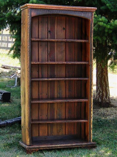 Country Roads Reclaimed Wood Bookcase By Idaho Wood Shop